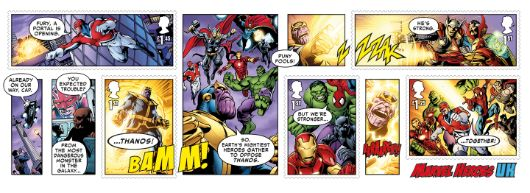 Marvel: Miniature Sheet