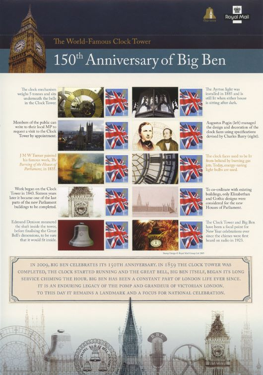Big Ben [Commemorative Sheet]