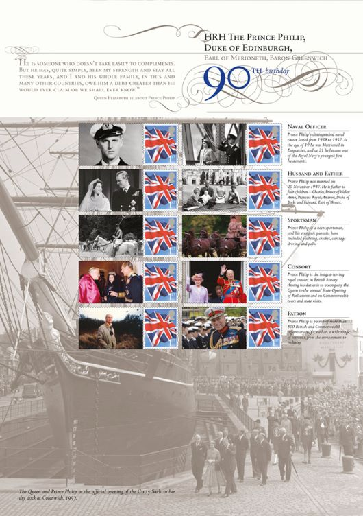 Prince Philip [Commemorative Sheet]