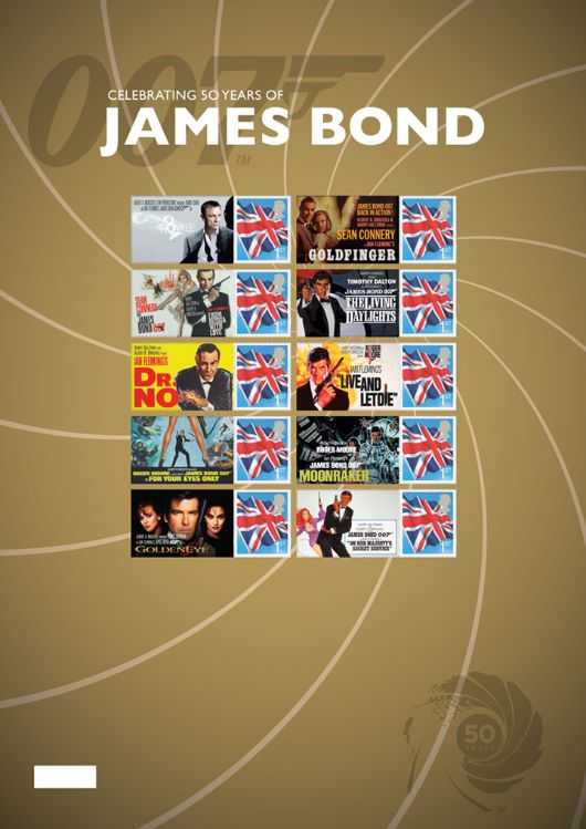 James Bond [Commemorative Sheet]