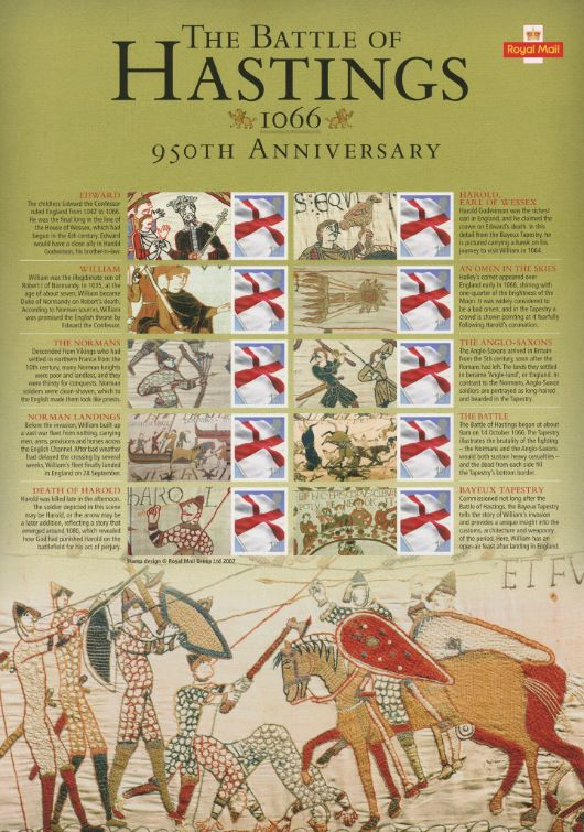 Battle of Hastings [Commemorative Sheet]