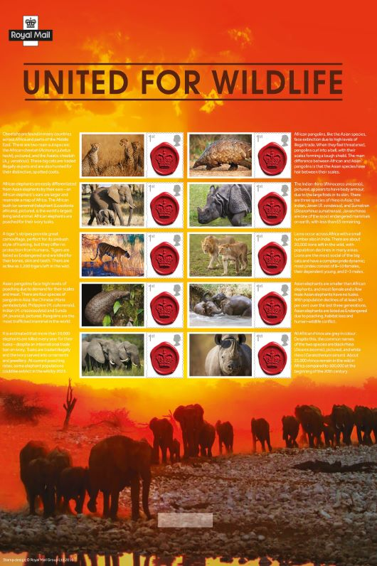 United for Wildlife [Commemorative Sheet]