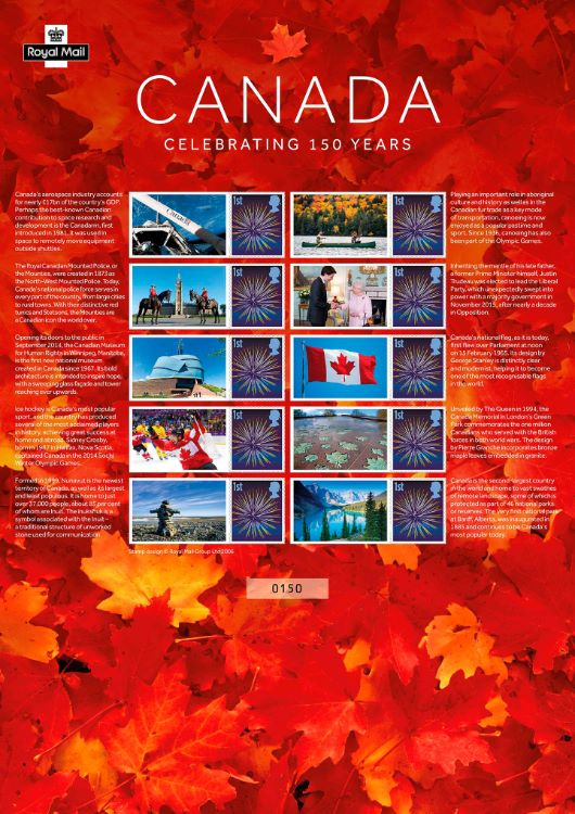 Canada [Commemorative Sheet]