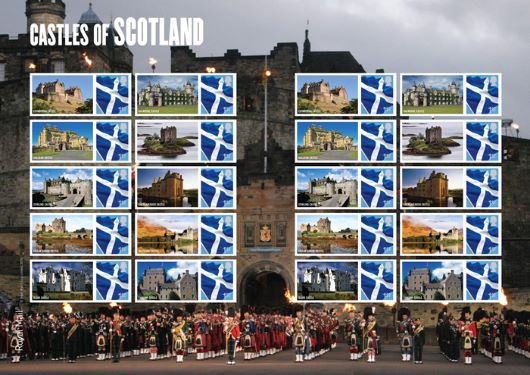 Castles - Scotland: Generic Sheet