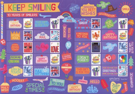 Festival of Stamps: Keep Smiling Generic Sheet