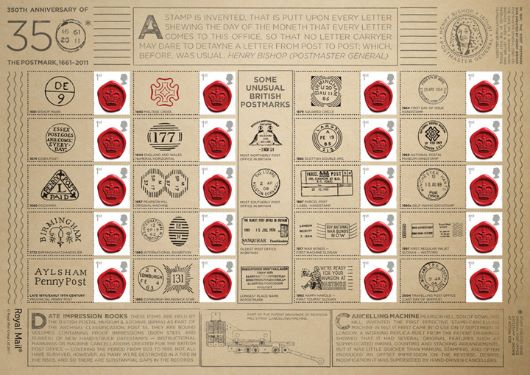 350 Years of the Postmark: Generic Sheet