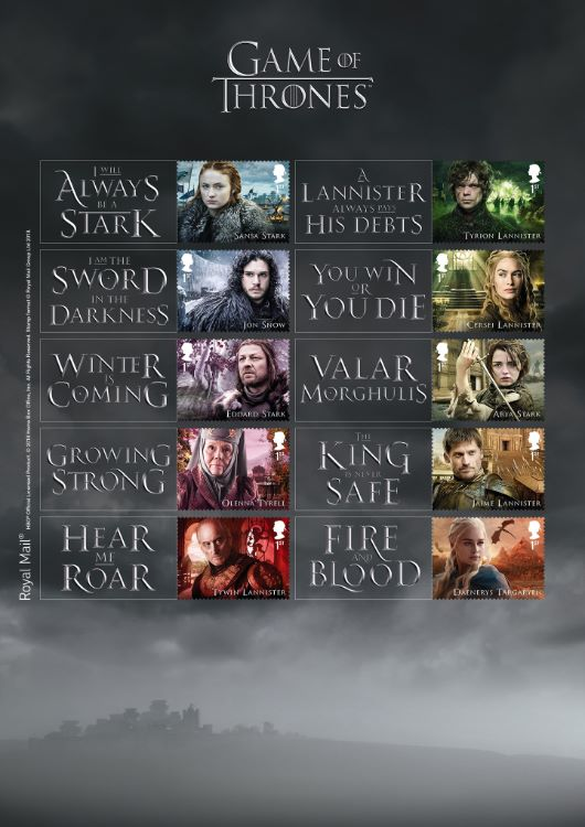 Game of Thrones: Generic Sheet