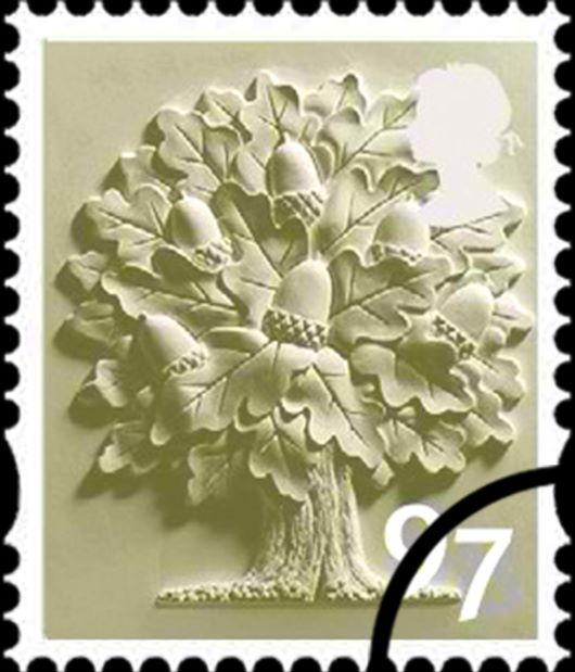 England 97p Oak Tree Stamp(s)