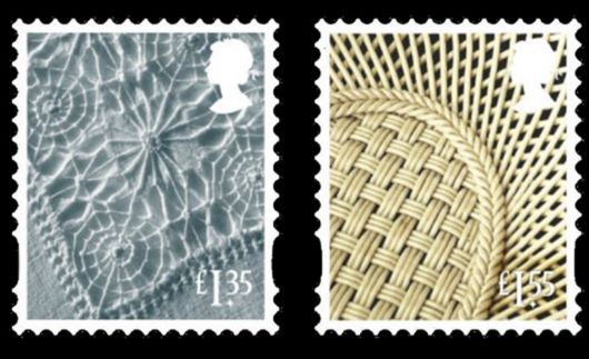 Northern Ireland: £1.35, £1.55 Stamp(s)