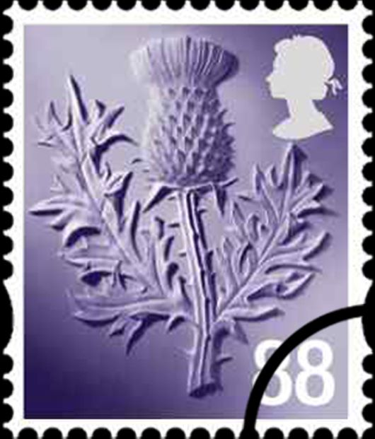 Scotland 88p Thistle Stamp(s)