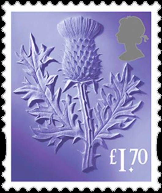 Scotland: £1.70 Thisle Stamp(s)