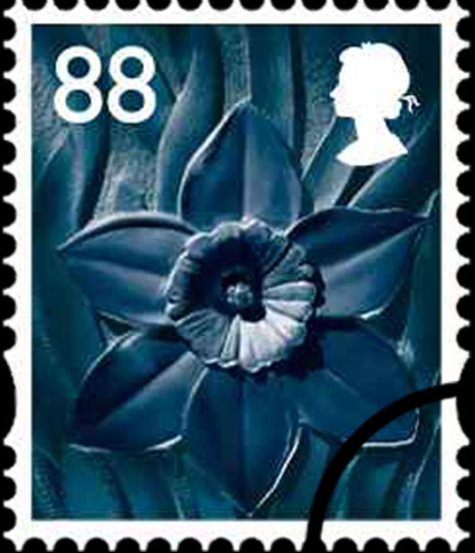 Wales 88p Daffodil Stamp(s)