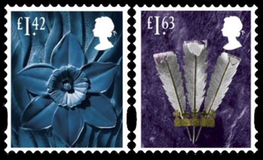Wales: £1.42, £1.63 Stamp(s)