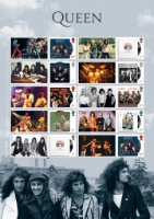 Queen Album Covers Royal Mail